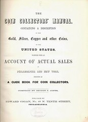 1860 Coin Collectors Manual