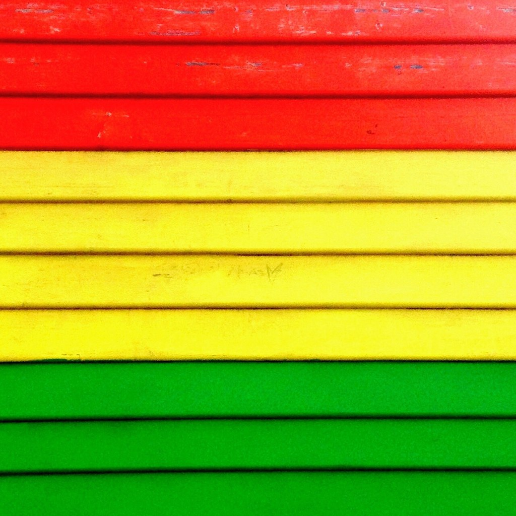 Flickr catchy colors #rasta