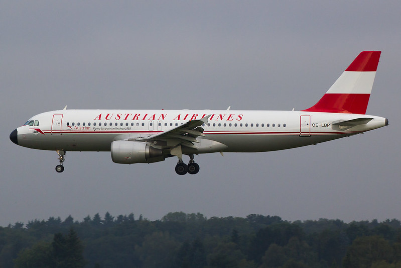 Austrian Airlines - A320 - OE-LBP (1)