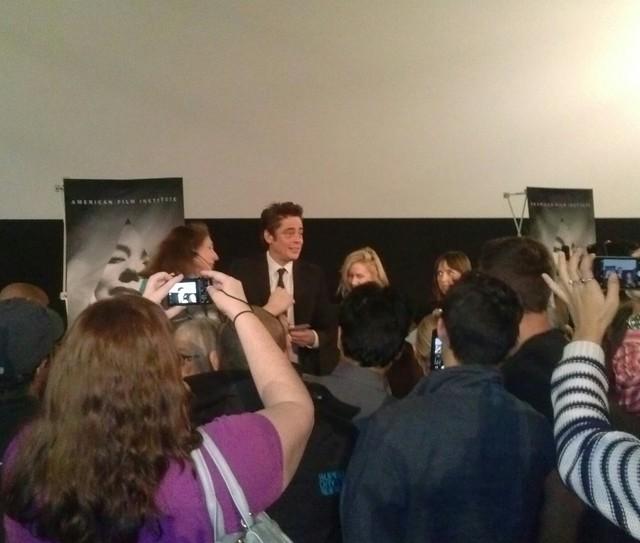 Header of Benicio del Toro