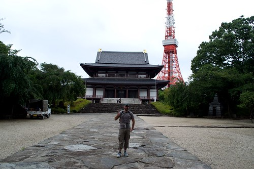 Zojoji and Tokyo Tower, ancient and new together