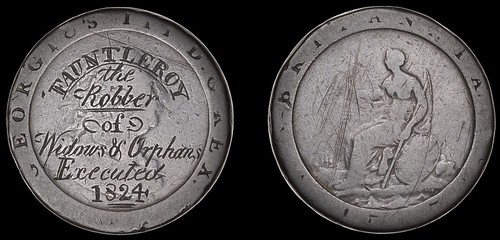 Fauntleroy the Robber of Widows & Orphans token