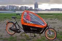 WorkCycles Kr8 Black Box Orange Rims 18