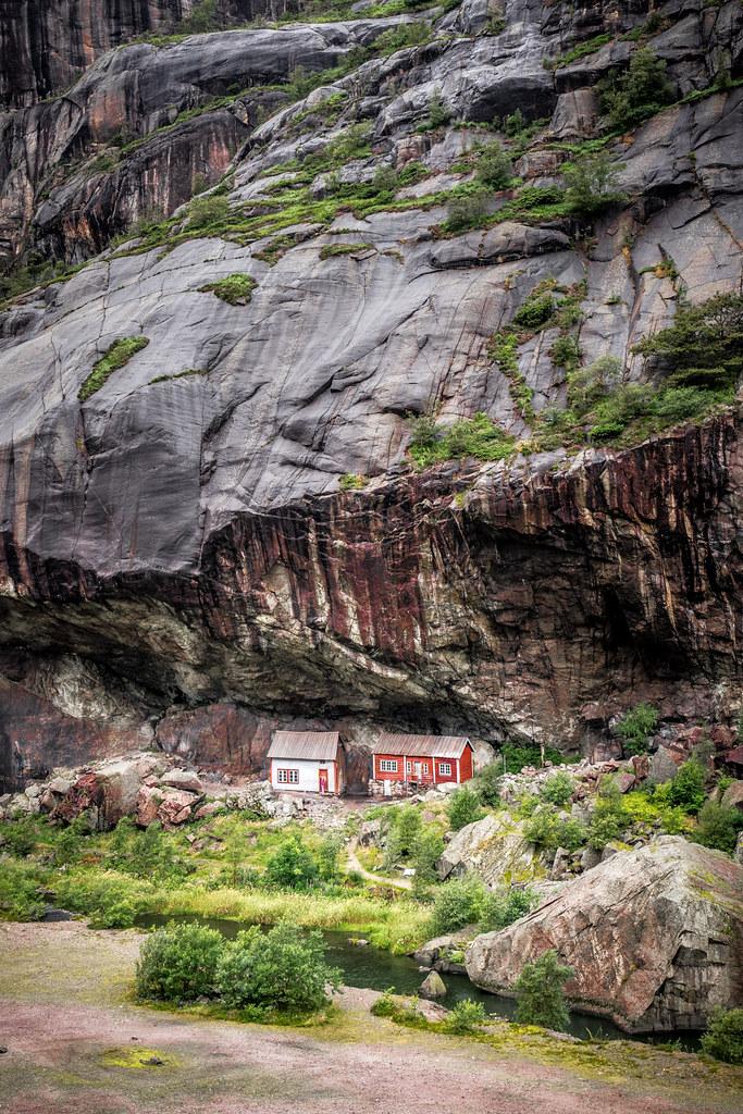 Houses, Helleren, Norway picture