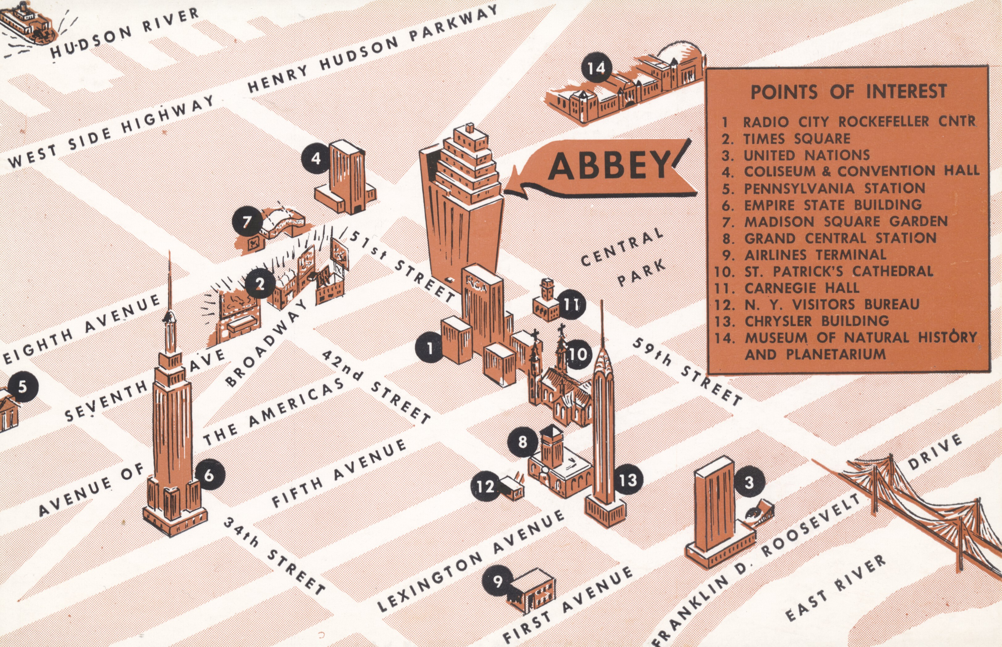 Abbey Hotel - New York, New York