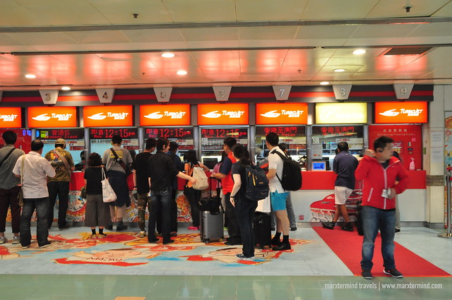 TurboJET Ticketing Counter Hong Kong