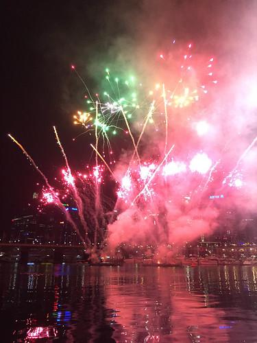 Feuerwerk in Darling Harbour