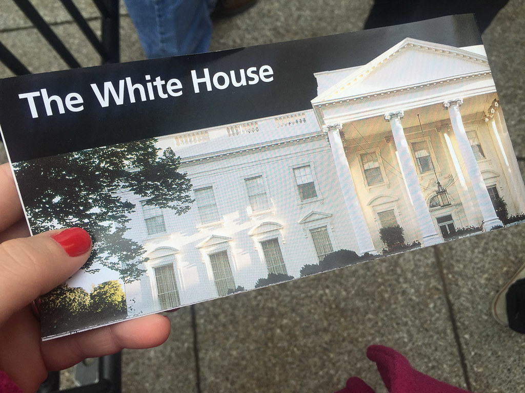 White House Brochure from the National Park Service