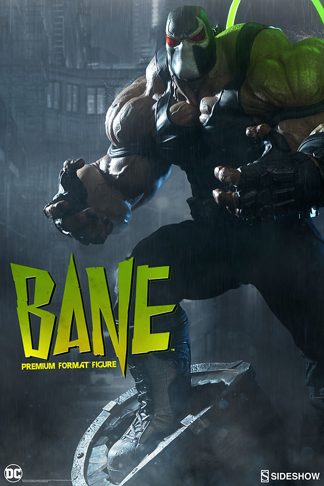 Peña Dura 監獄之王!!Sideshow Collectibles【班恩】Bane 1/4 比例全身雕像作品