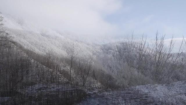 il Pratomagno d'Inverno