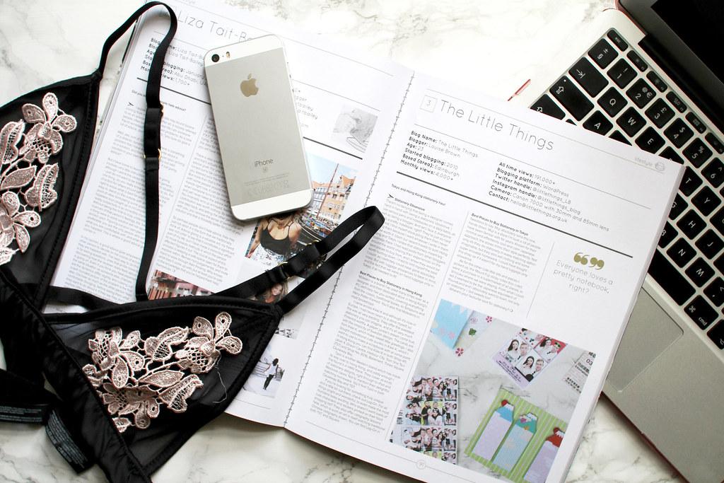 lifestyle blogger UK The Little Things Blogosphere flatlay