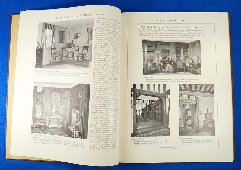 RD1041 1926 The House Beautiful Furnishings Annual Atlantic Monthly Company Interior Design DSC08676