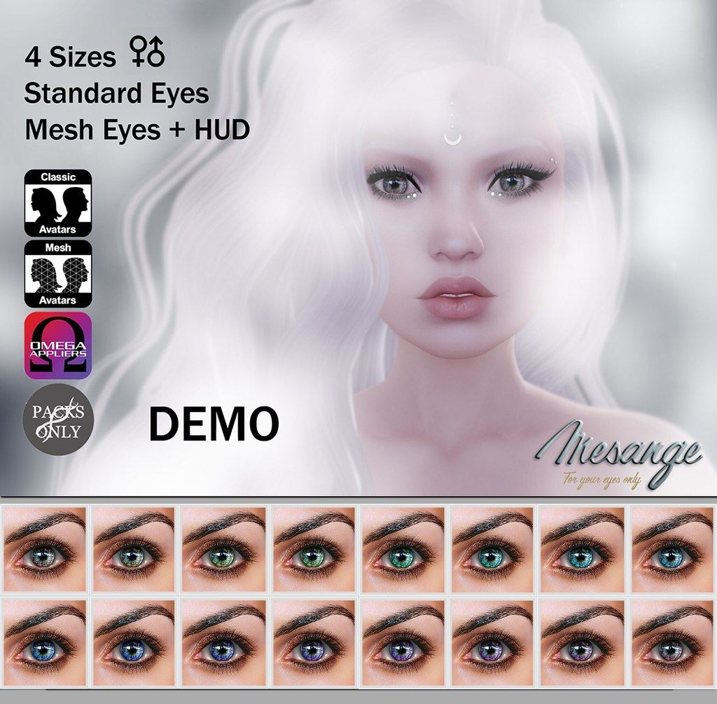 MESANGE - Sekhmet Eyes for THE CHAPTER FOUR - SecondLifeHub.com