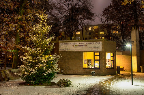 winterliches Stadtquartier 3