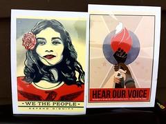 Spoke Cards for Women's March