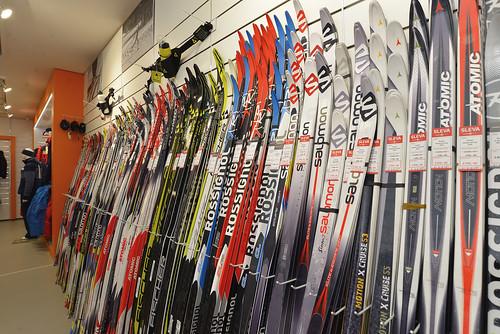 Prodejna Harfasport– běžky a vybavení na běžecké lyžování