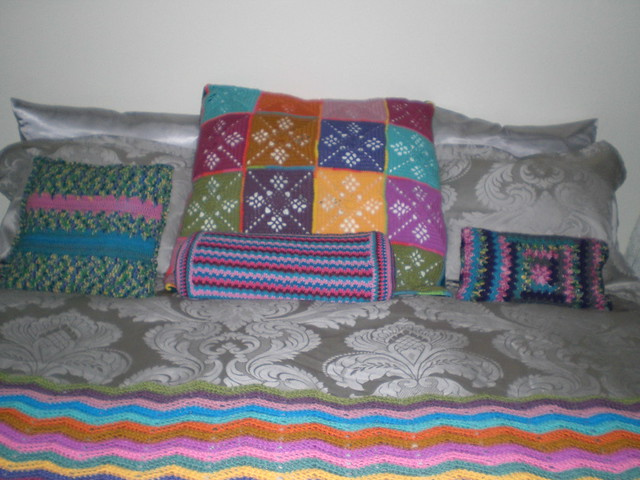 Colourful Bed Pillows