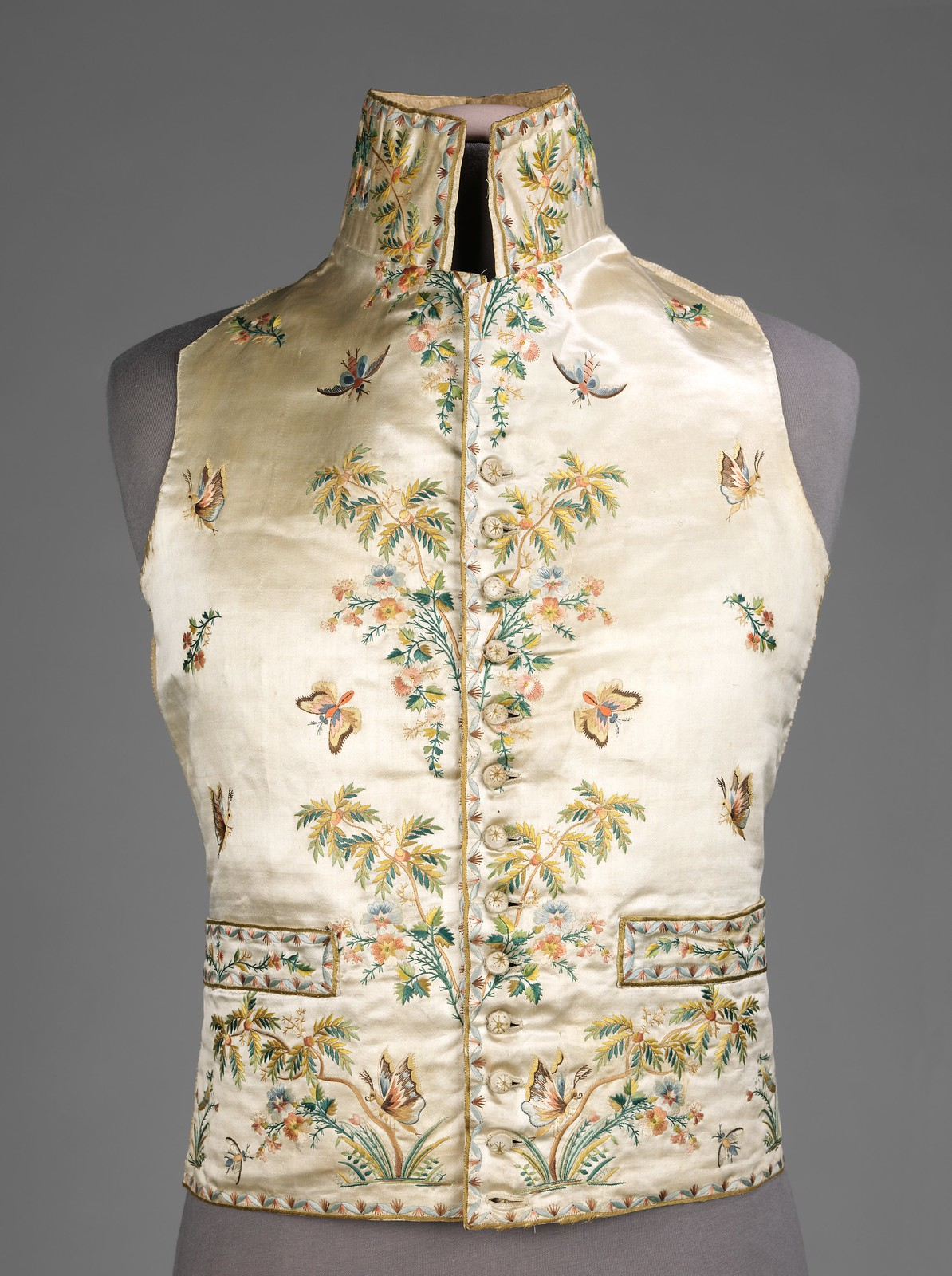 1780. French. Silk. metmusem