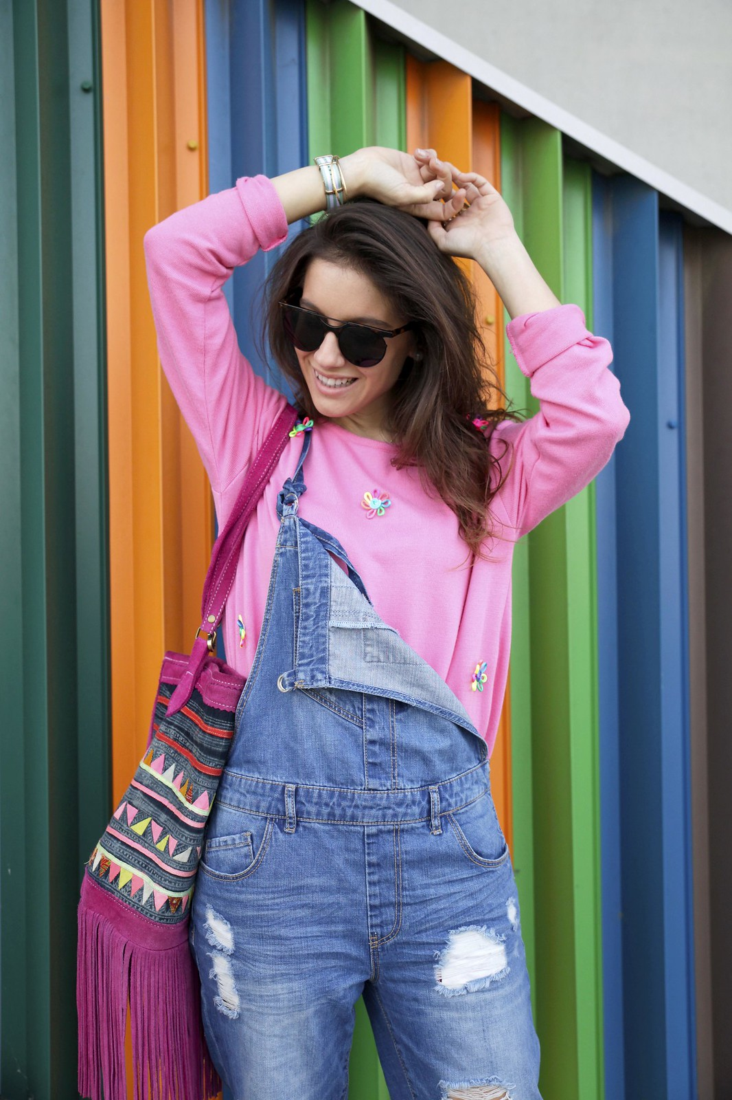 OVERALL OUTFIT FOR SPRING laura santolaria blogger barcelona