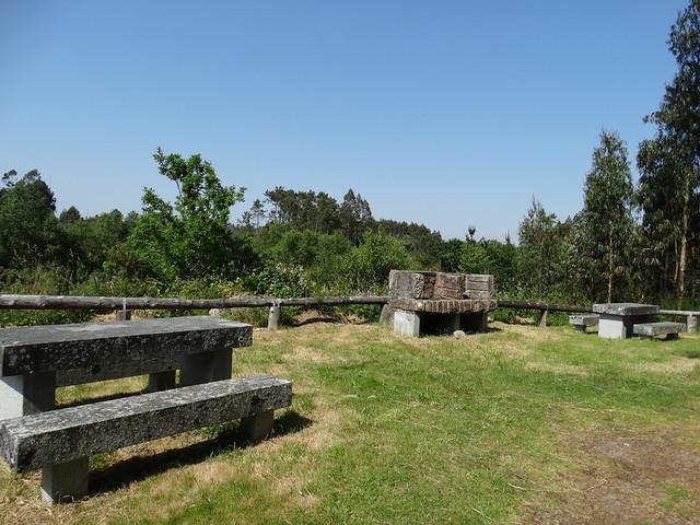 Área recreativa de Pedra Longa en Tordoia