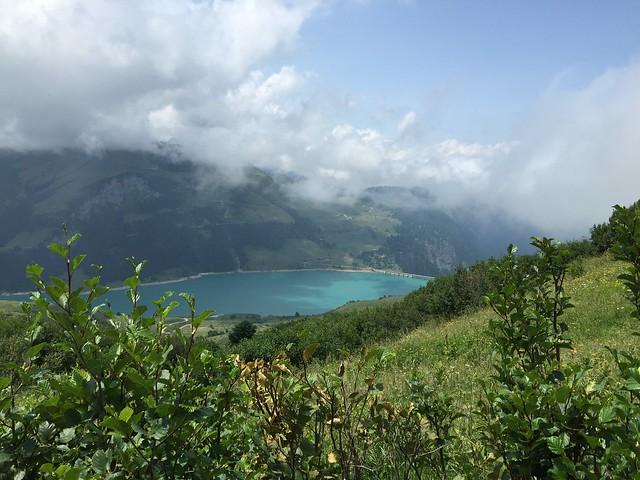 GR5 lac de Roselend