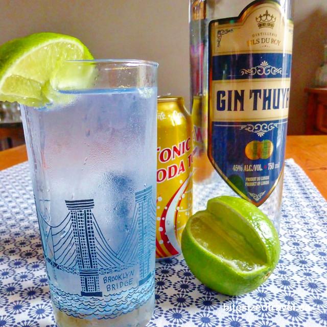 Distillerie Fils du Roy gin thuya new brunswick