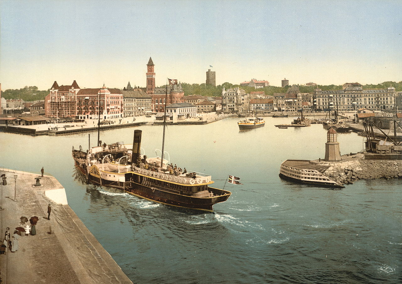 Helsingborg harbor, Sweden