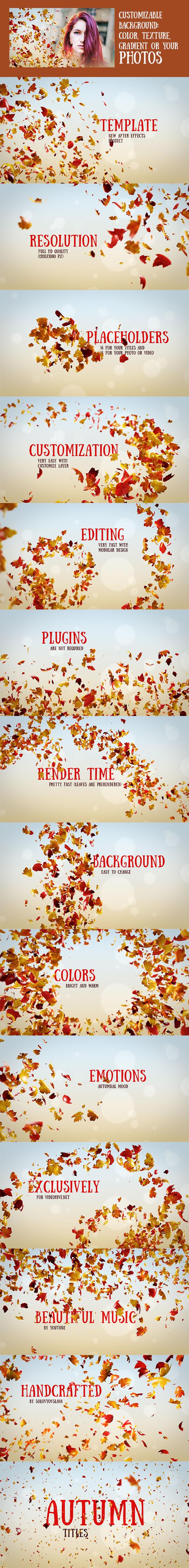 Autumn Titles