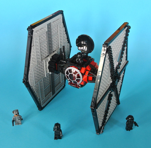 Review: 75101 First Order Special Forces TIE Fighter | Brickset ...