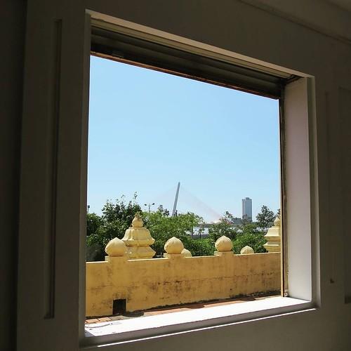 窓からの景色。
