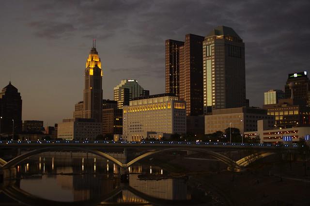 Columbus Ohio evenings