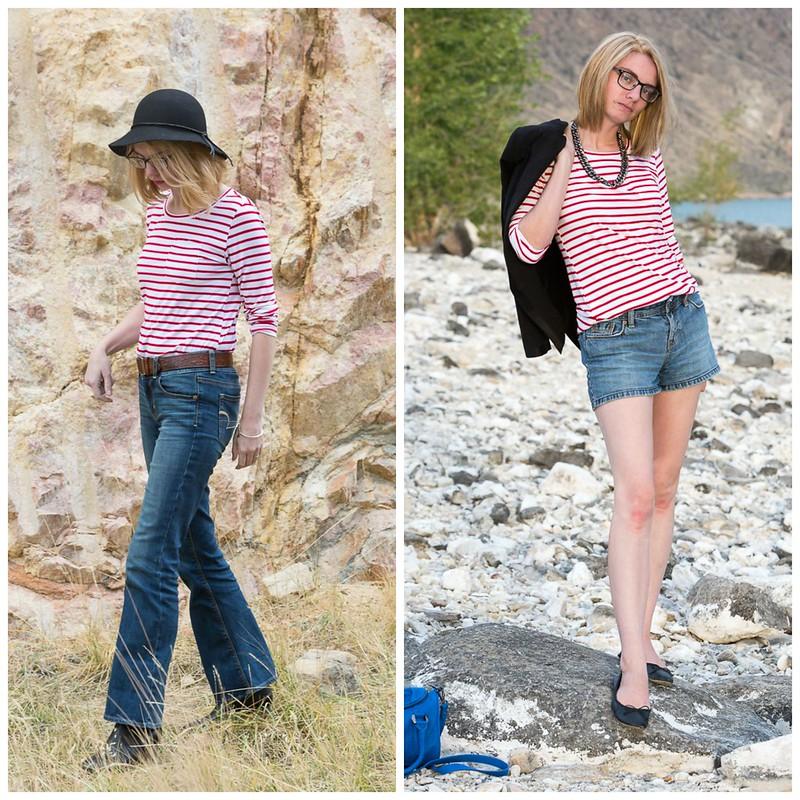 red,stripe,shirt,popbasic,