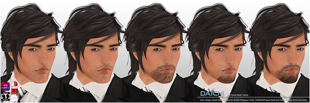 [DBF] Daichi skin shape appliers facial hair AD
