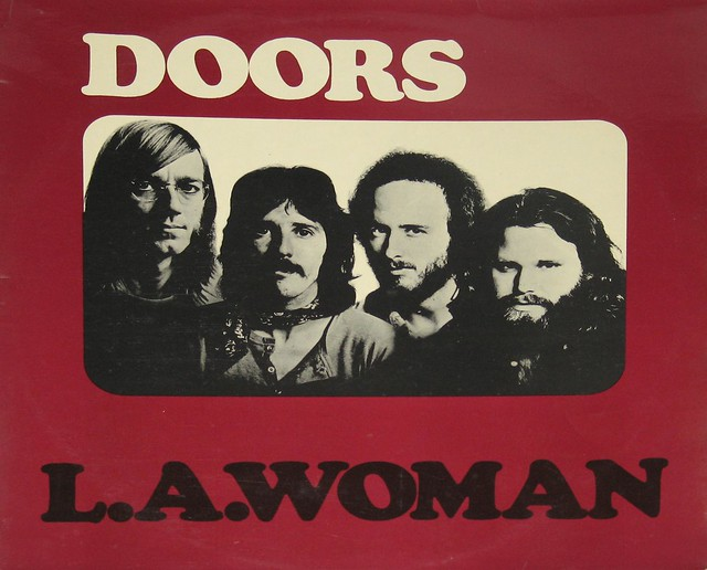 "The Doors L.A. Woman EEC 12"" Vinyl LP"
