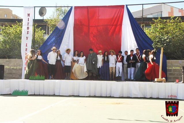 Fiestas Patrias Castilla y Aragón (2015)