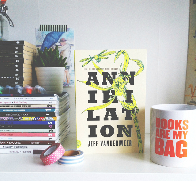 vivatramp annihilation jeff vandermeer uk book blog