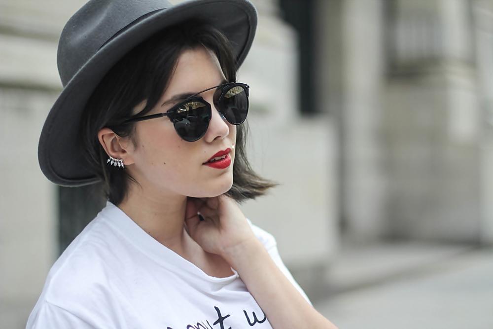 earcuff choies y gafas dior so real streetstyle myblueberrynightsblog