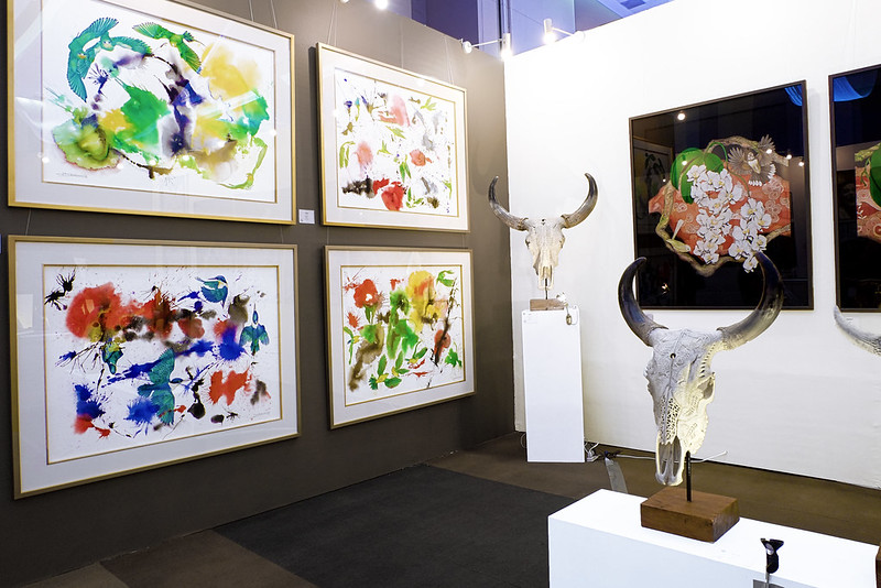 Sundae Scoops at Manilart 2015 featuring Arte Pintura Gallery