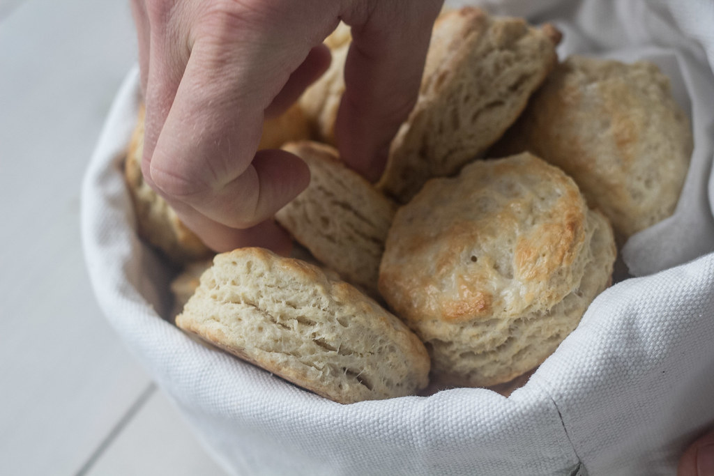 Amerikanske Buttermilk Biscuits