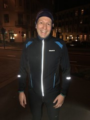 Joggetur med Stein Magne