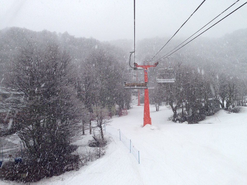 On the Tata chairlift
