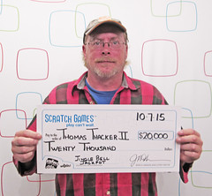 Thomas Thacker II - $20,000 Jingle Bell Jackpot
