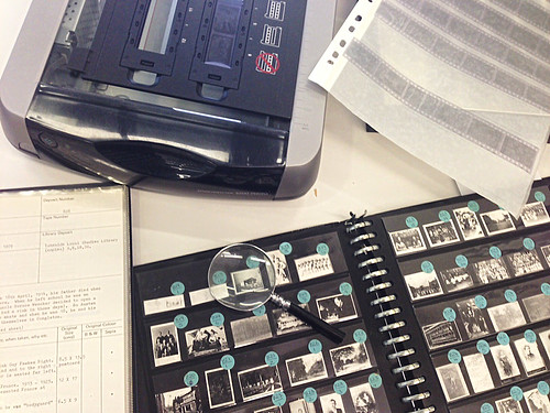 Digitising negatives in Archives+