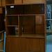 Retro bookcase cabinet