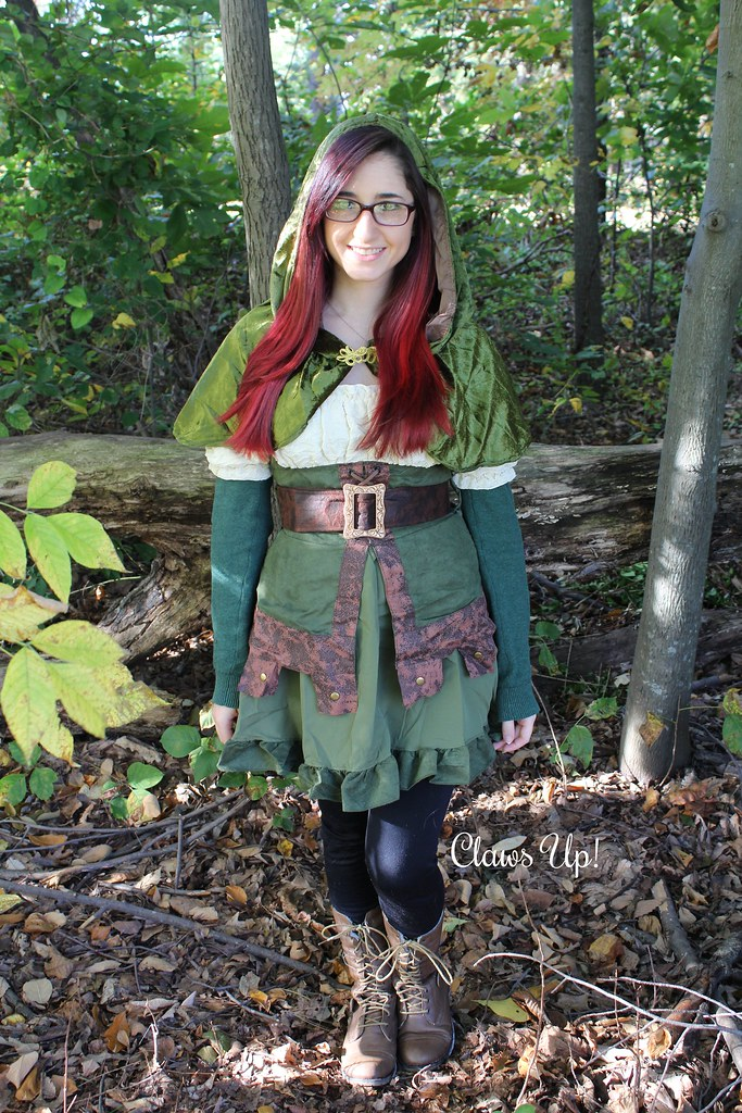 Renaissance fair garb, what I wore to the Renaissance fair.