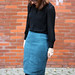 Freehand Fashion Pencil Skirt