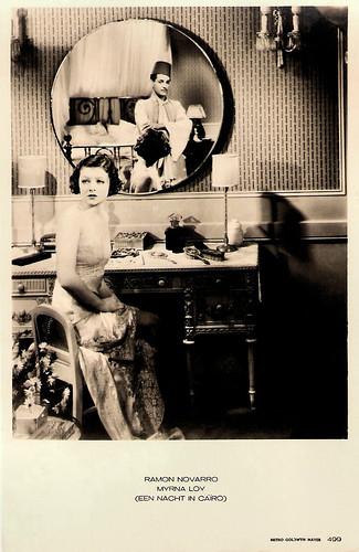 Ramon Novarro and Myrna Loy in The Barbarian (1933)