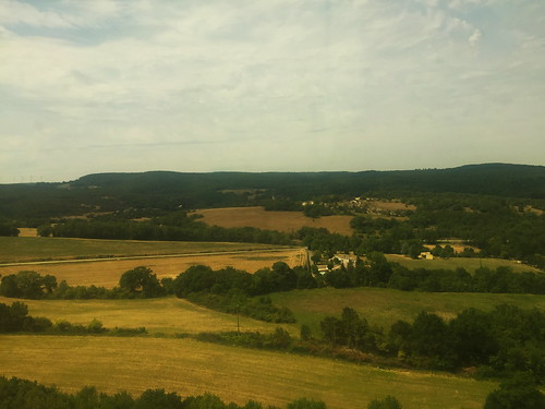 Scenic Train Ride from Paris to Zurich