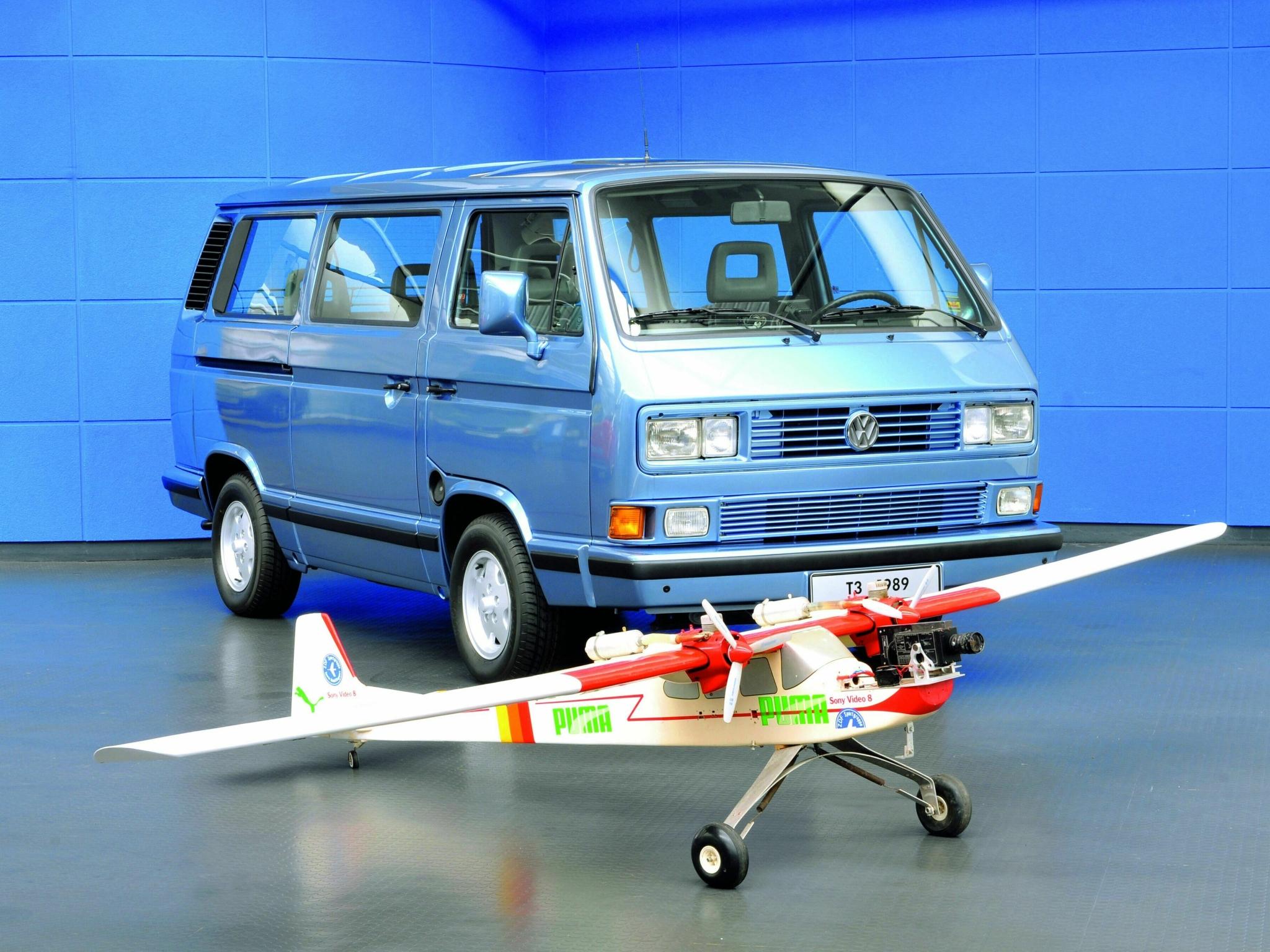 Роскошный минивэн Volkswagen T3 Caravelle. 1979 - 1992 годы
