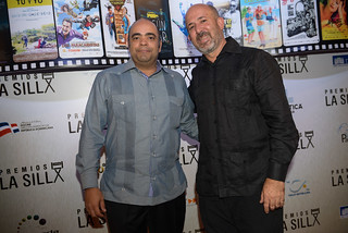 Omar de la Cruz y Franklyn Domínguez. Premios La Silla.